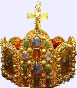 English: Crown of the Holy Roman Empire.