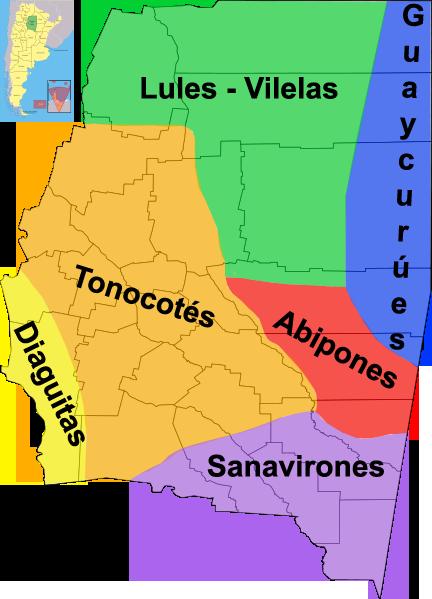 Indgenas de Santiago del Estero  Wikipedia la enciclopedia libre