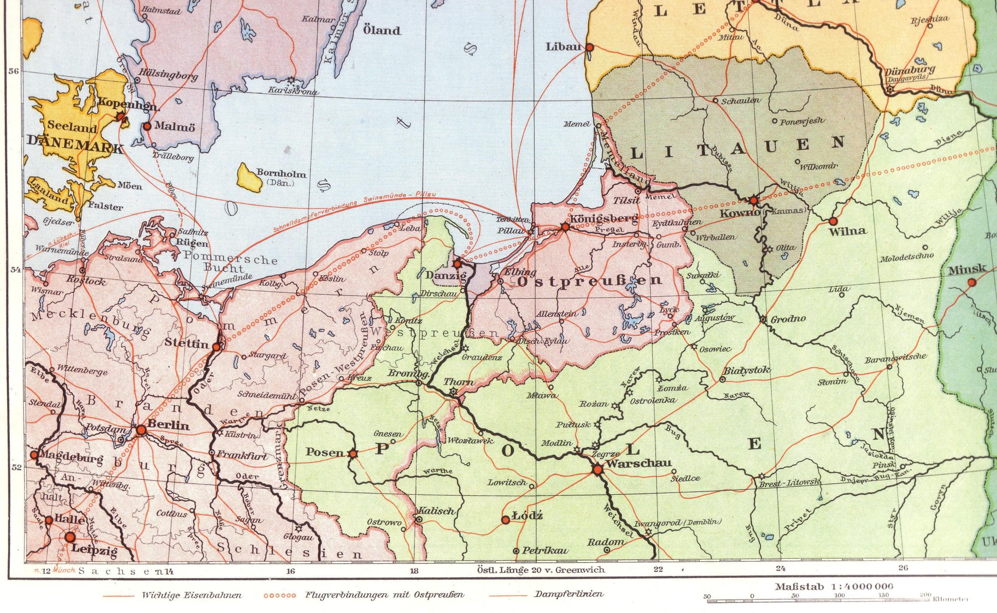 karte ostpreußen Ostpreußen – Wikipedia karte ostpreußen
