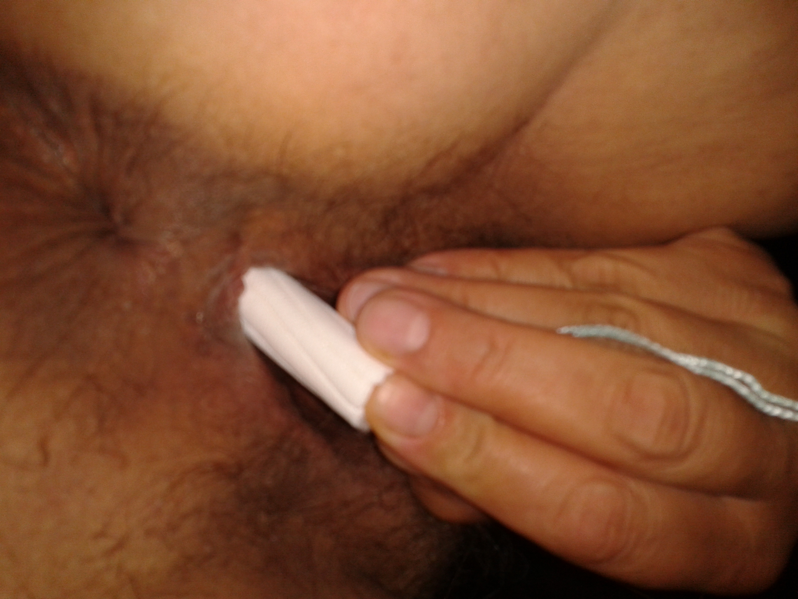 Lose my virginity by inserting a tampon — pic 5