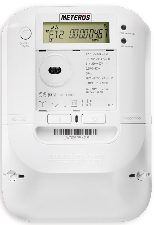 Nz Single Phase Smart Meter : Smart meter wikipedia