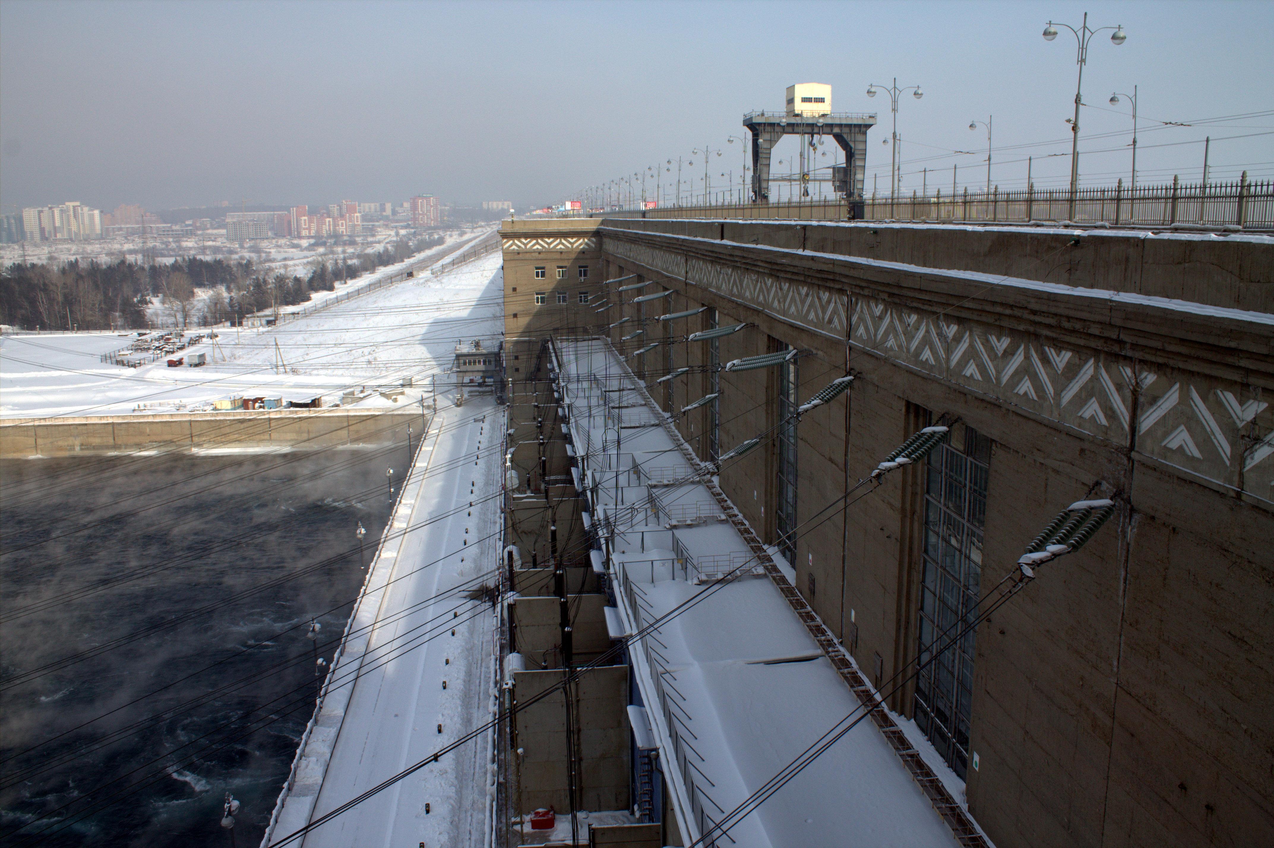 схема иркутского водохранилища