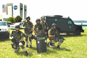 The Kennedy Space Center SWAT team