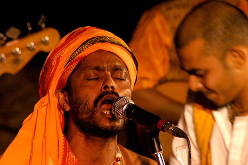 Karthik Das Baul, a renowned Baul singer from ...