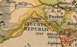 Ligurische Republiek in 1803