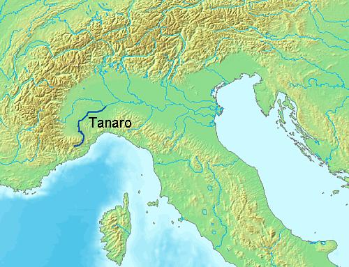 floder i italien karta Tanaro – Wikipedia floder i italien karta