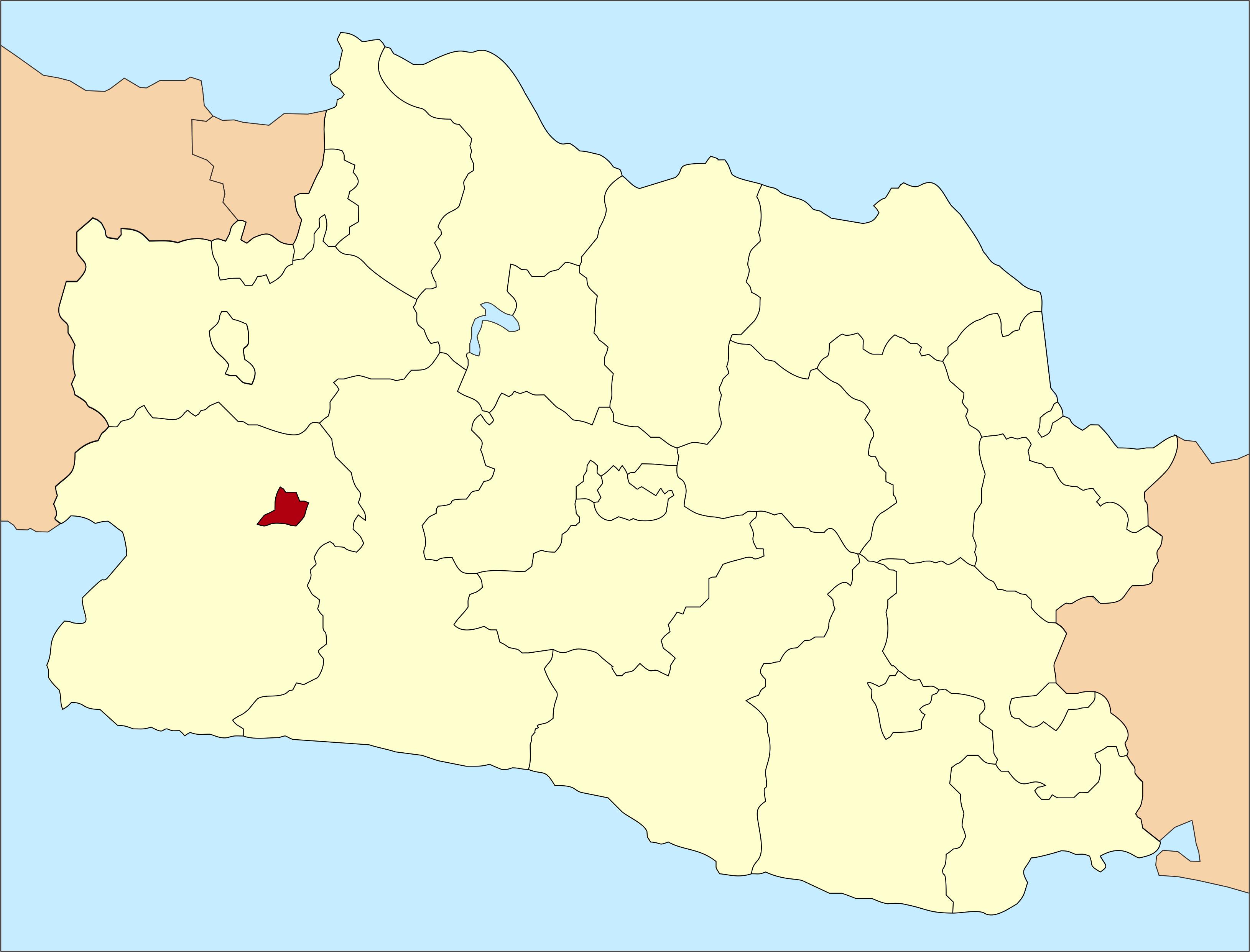 Letak Kota Sukabumi di Jawa Barat