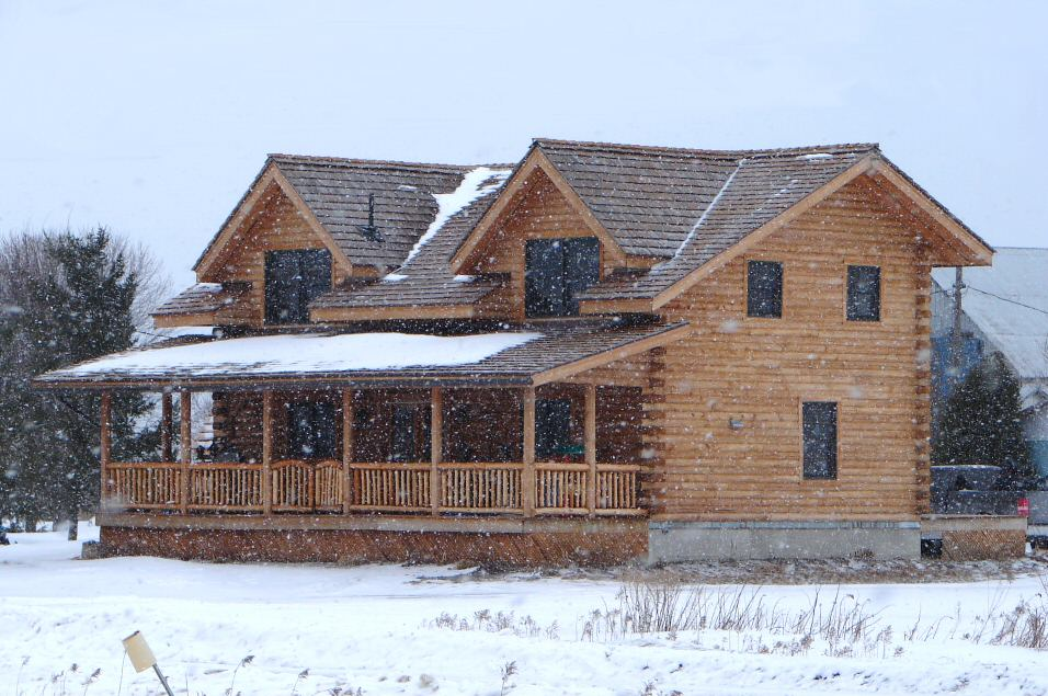 File Log Home Jpg Wikimedia Commons