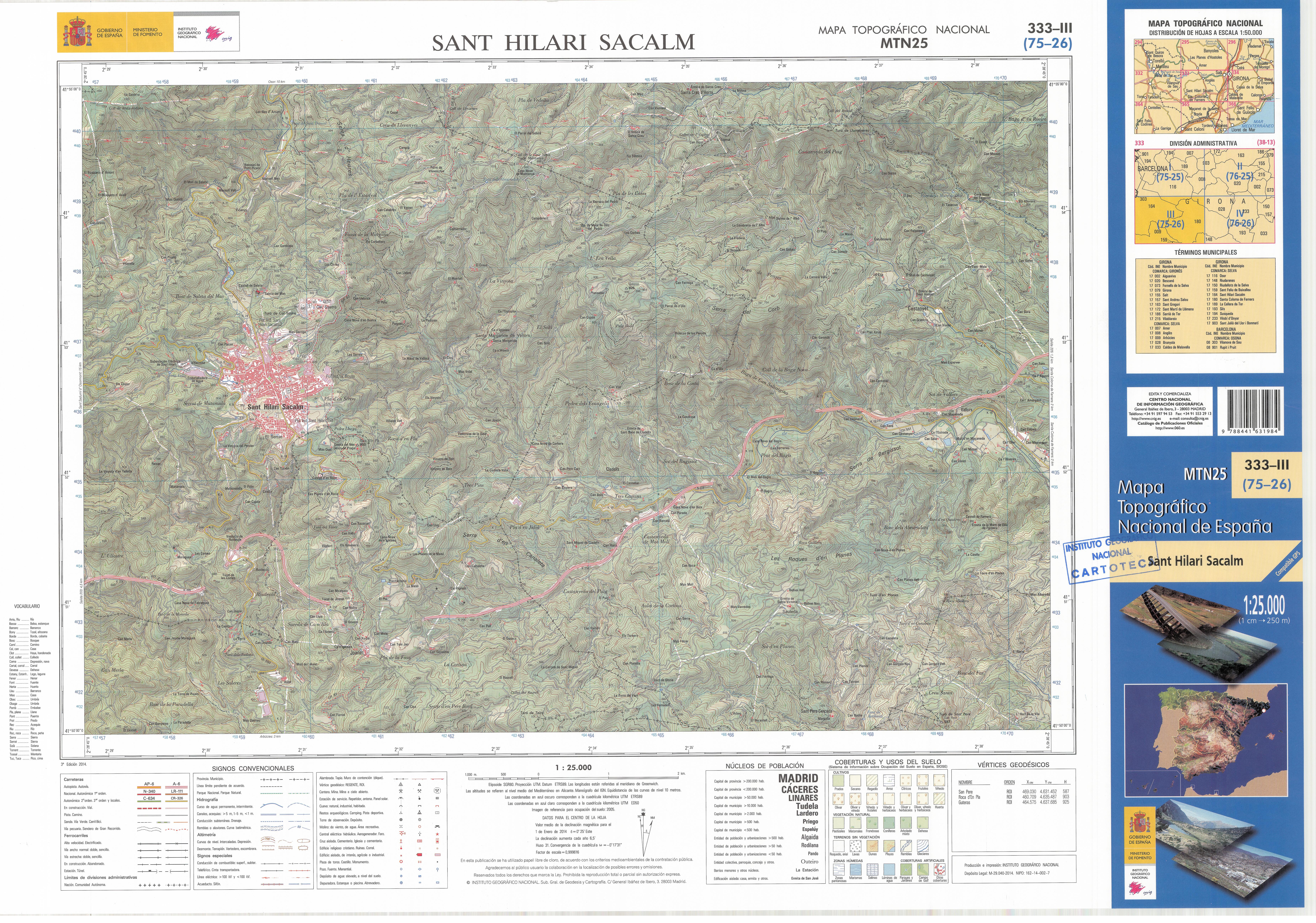Sant Hilari Sacalm Mapa.File Mtn25 0333c3 2014 Sant Hilari Sacalm Jpg Wikimedia