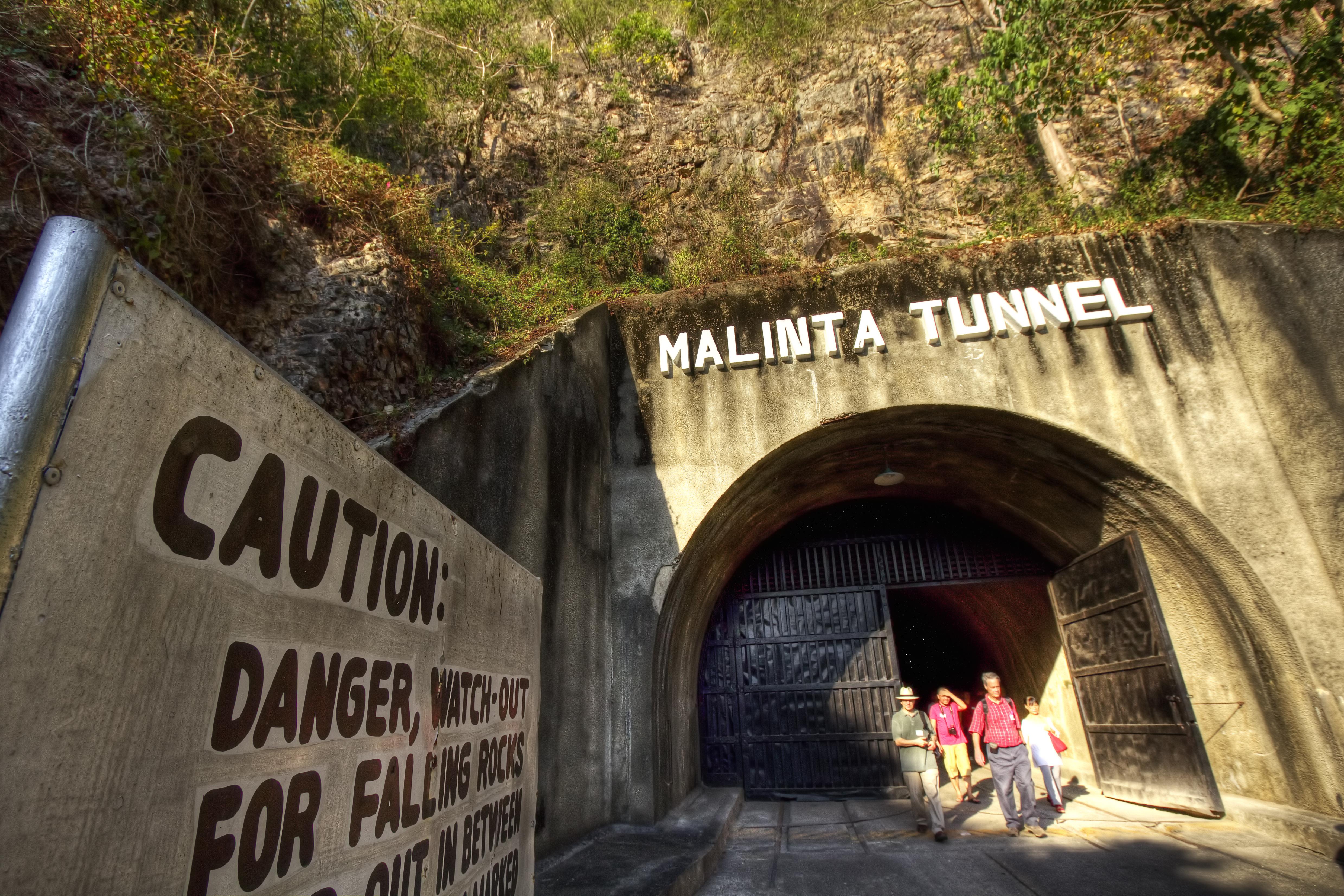 Malinta Tunnel Located File:malinta Tunnel