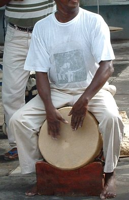 Music Of Reunion Island: Maloya Drummer