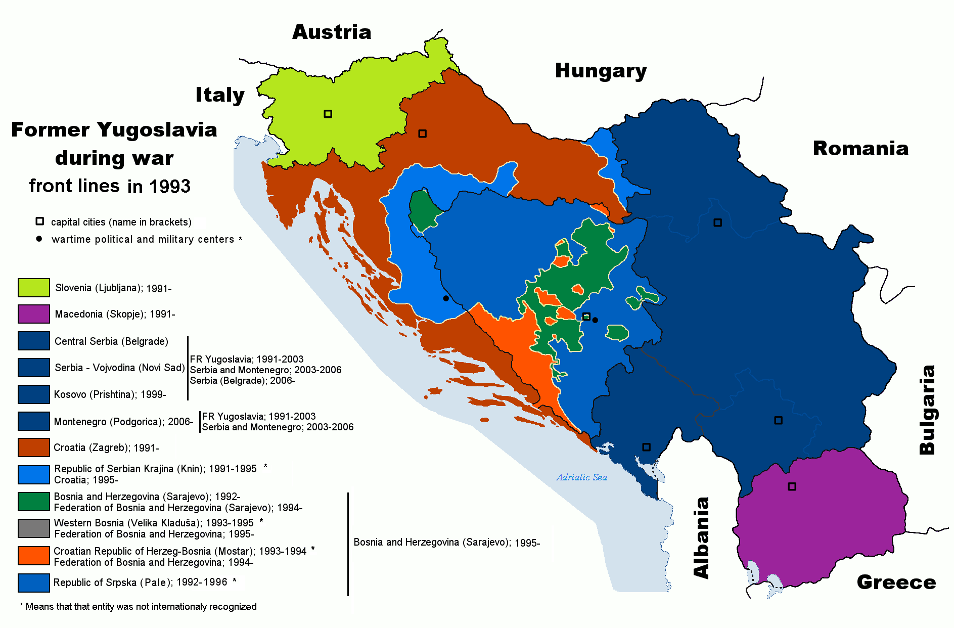 "a history of war in yugoslavia ""the history of yugoslavia"" student organizer (answer key) 1  how did yugoslavia emerge from the war, and how did it differ from the yugoslavia of 1920."