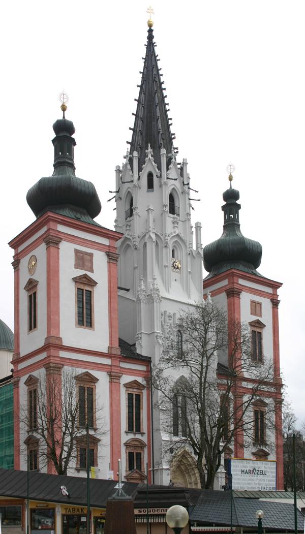 Mariazell - centrum pielgrzymkowe