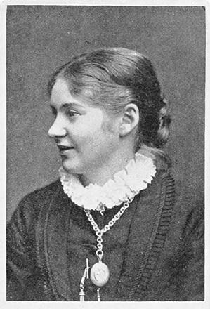 Mathilda Malling in 1902