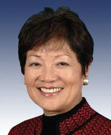 Congresswoman Hirono during the 110th congress