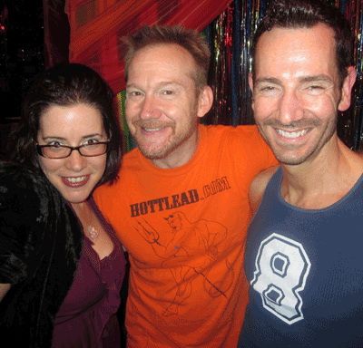 File:Me at Porno Bingo with host Will Clark and gay porn star ...