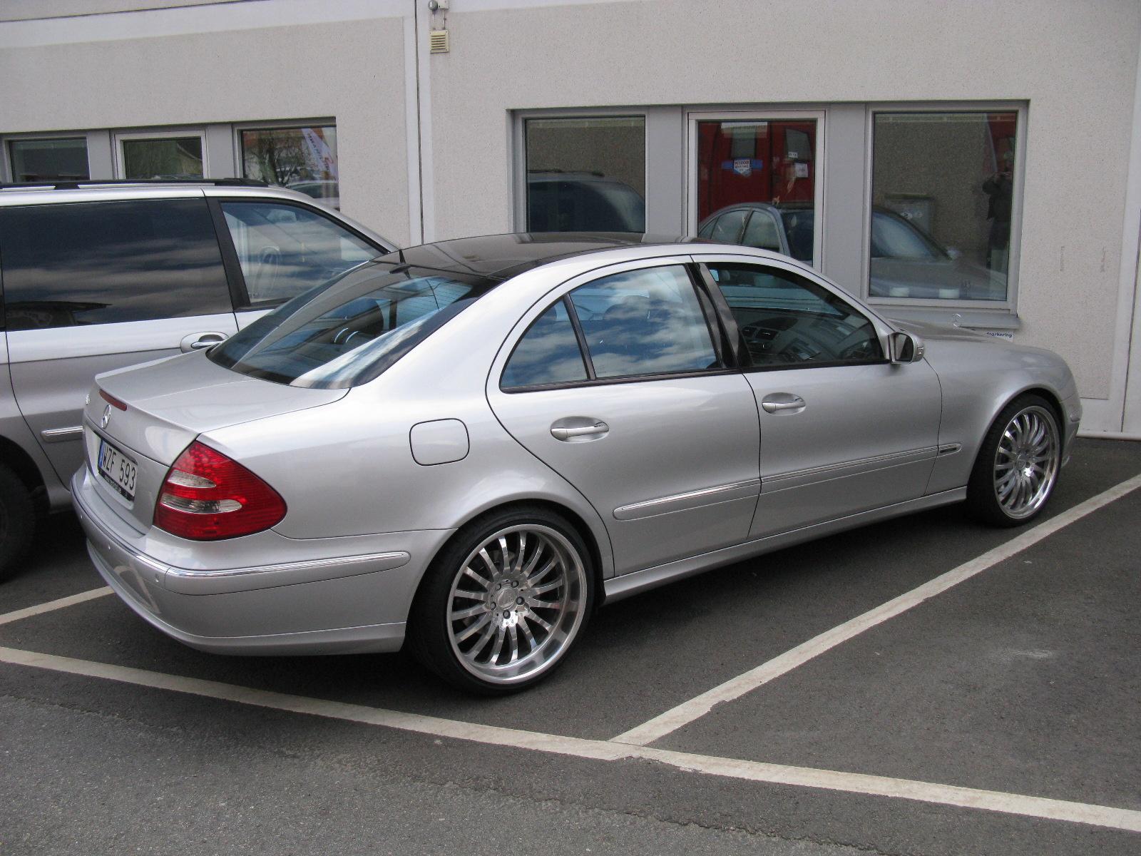 2002 e320 mercedes