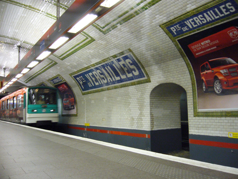File Metro Paris Ligne 12 Porte De Versailles Mf67 Jpg