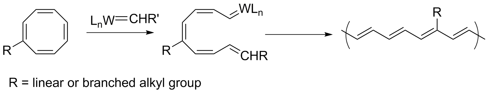 ring opening metathesis grubbs Generation grubbs catalyst specifically, ring-closing metathesis mechanisms were in ring-opening metathesis, a cyclic olefin reacts with an acyclic olefin to produce.
