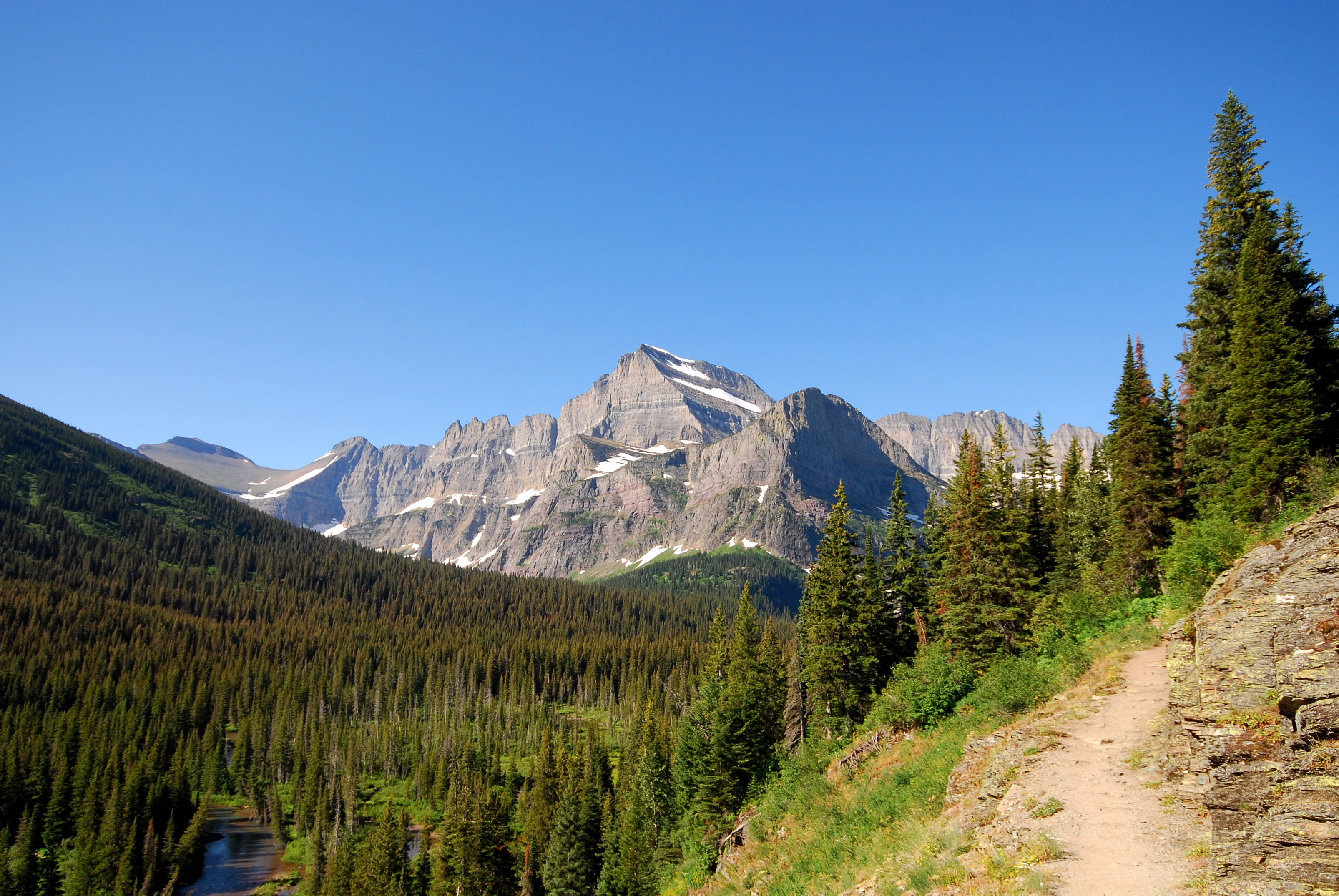 mount gould behind grinnell - photo #3