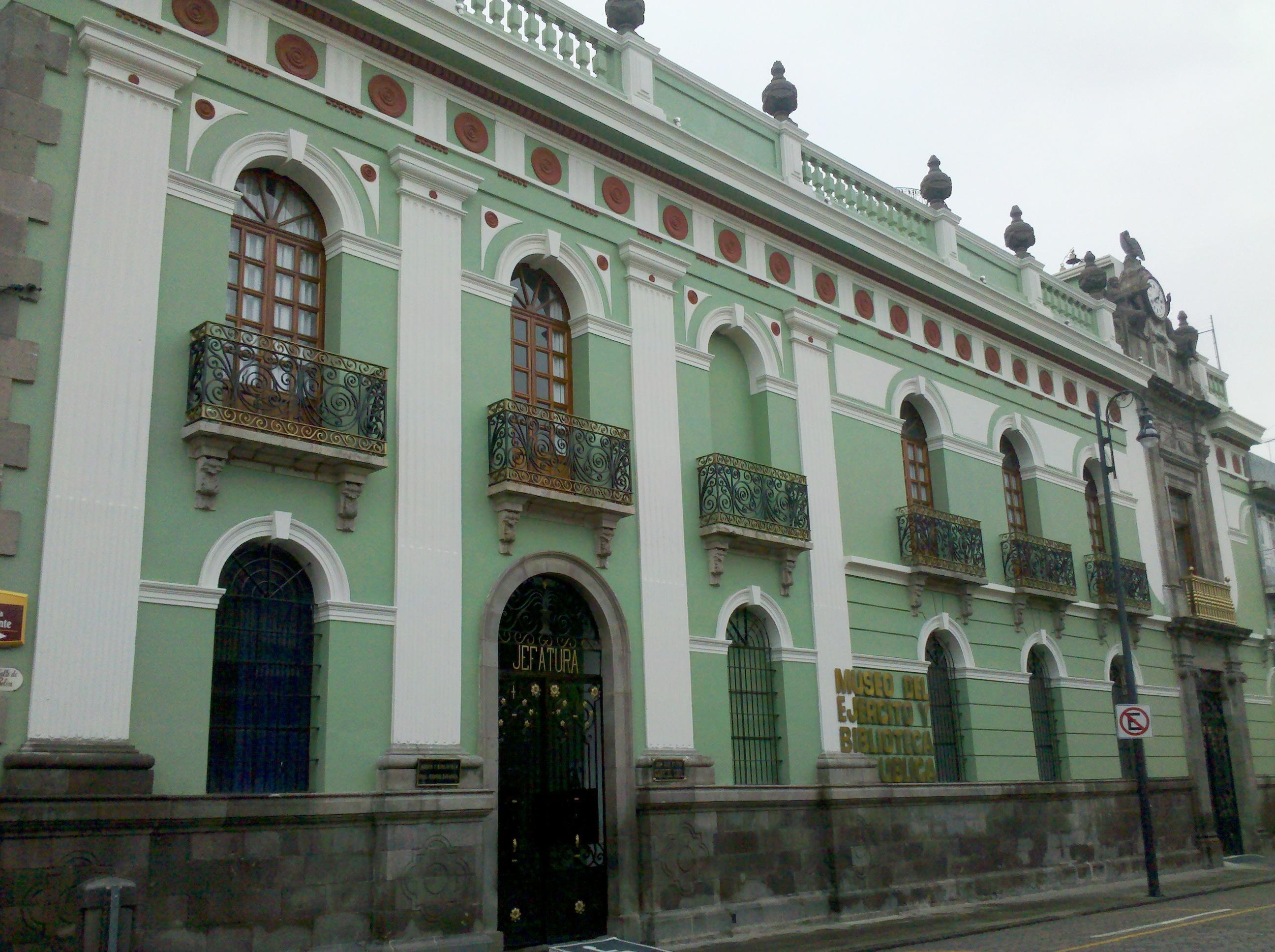 File:Museo del Ejército y Biblioteca Pública General Ignacio Zaragoza.jpg - W...