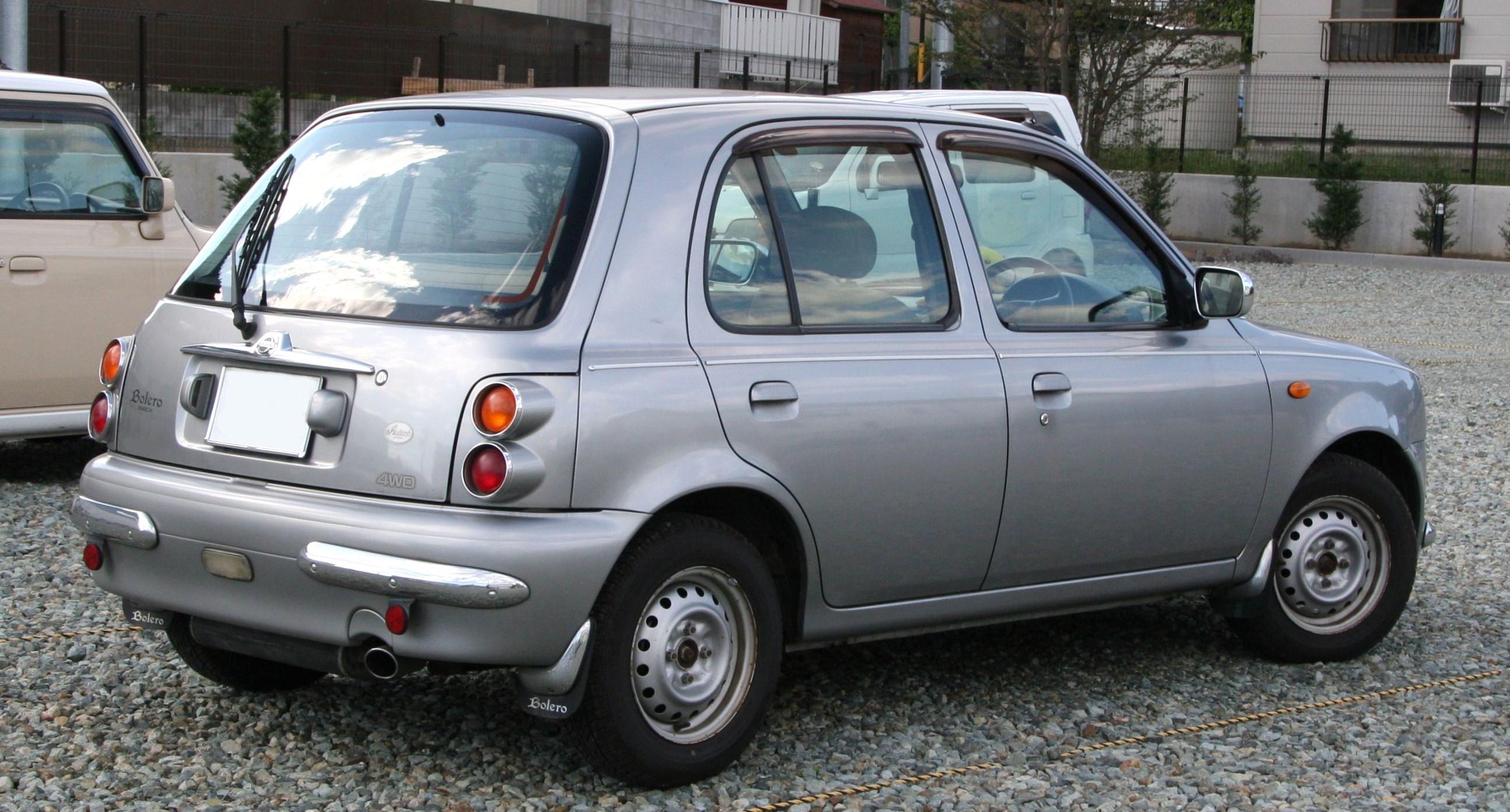 File Nissan March Bolero Rear Jpg Wikimedia Commons