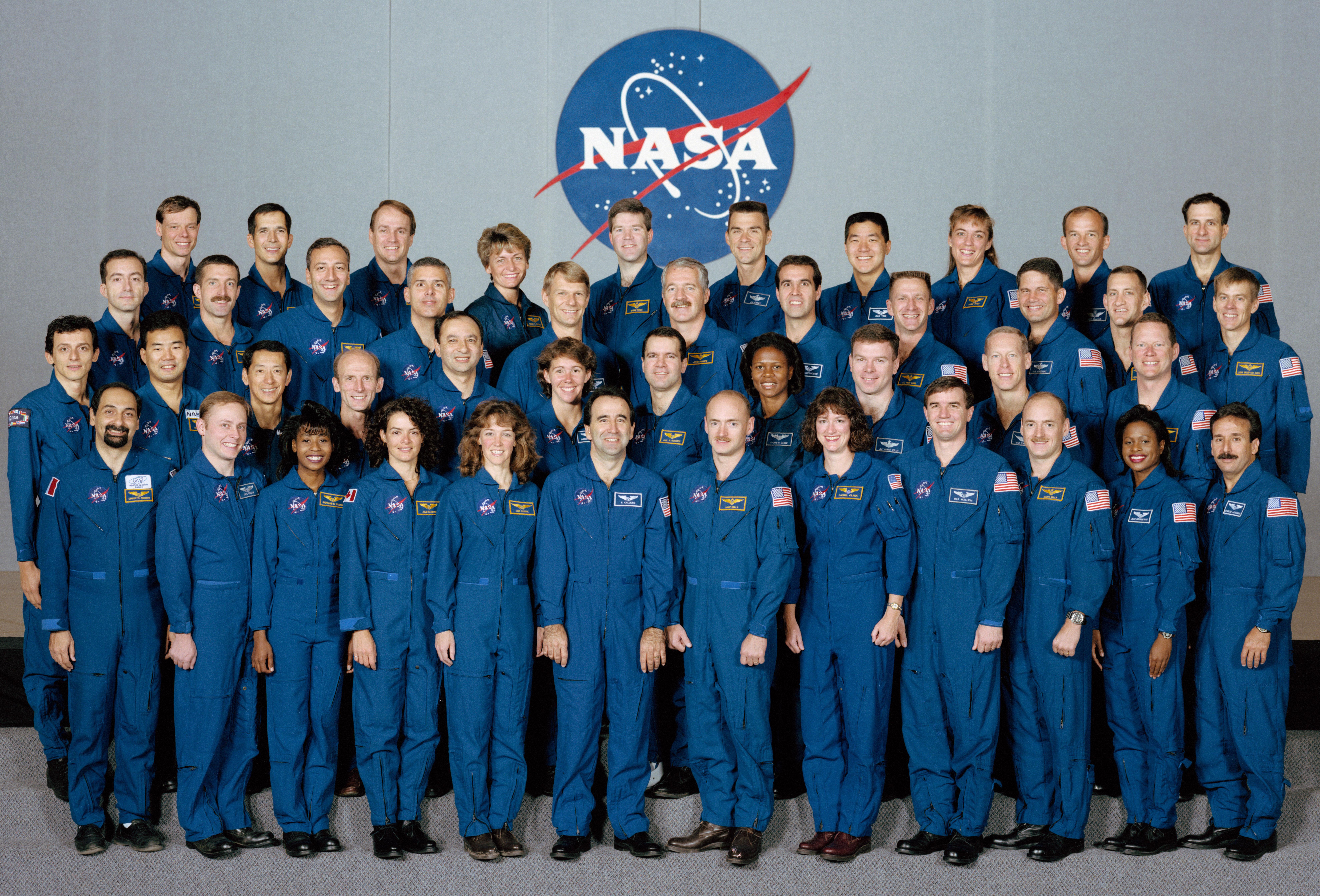 Nasa astronaut class of 1996