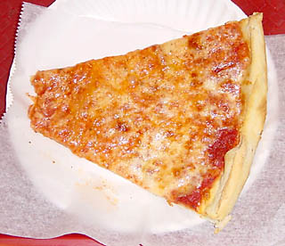 English: A classic New York slice, October 20,...