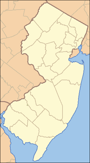 New Jersey Locator Map
