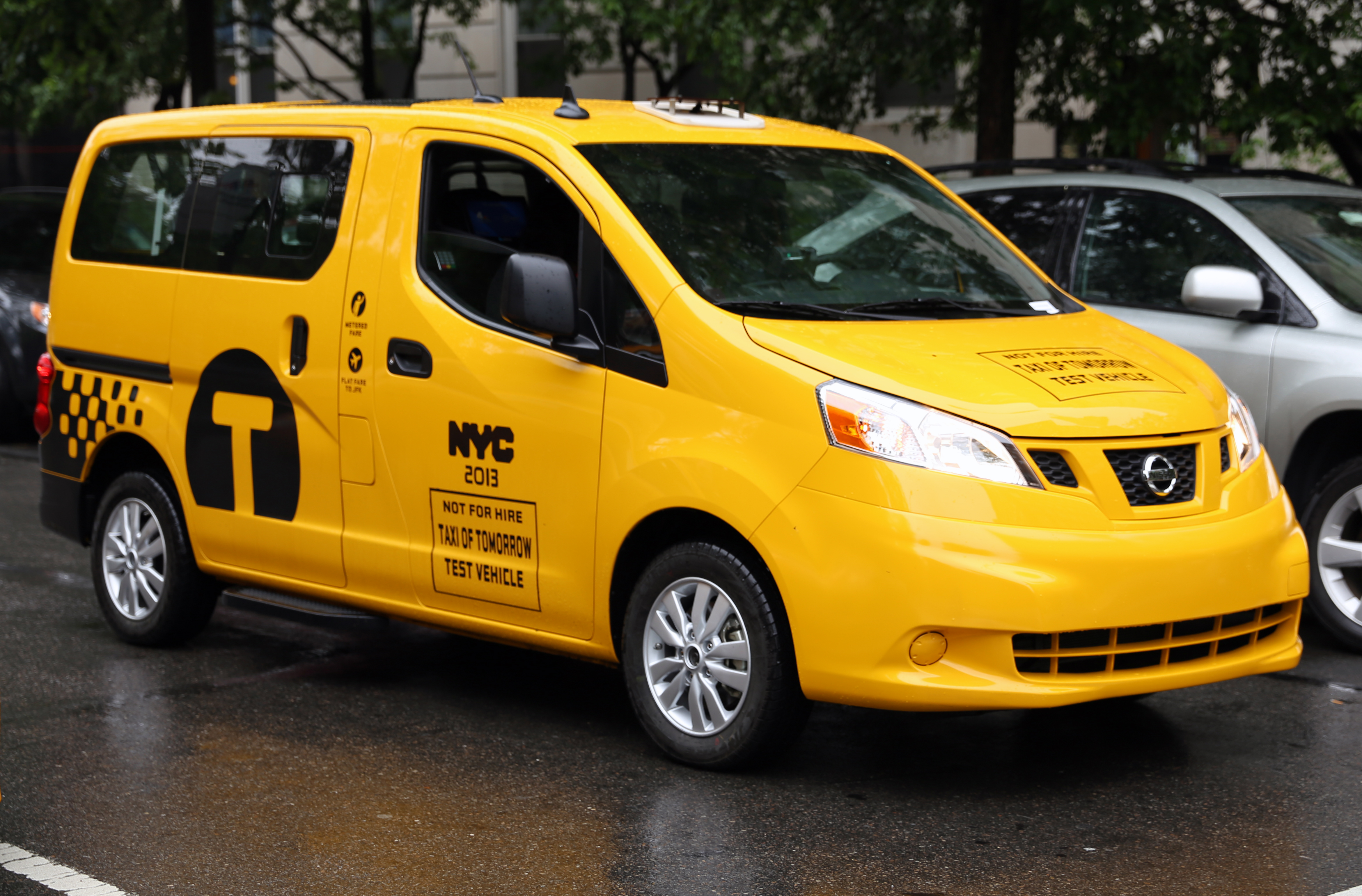 file nissan nv200 taxi of tomorrow test vehicle jpg wikimedia commons. Black Bedroom Furniture Sets. Home Design Ideas