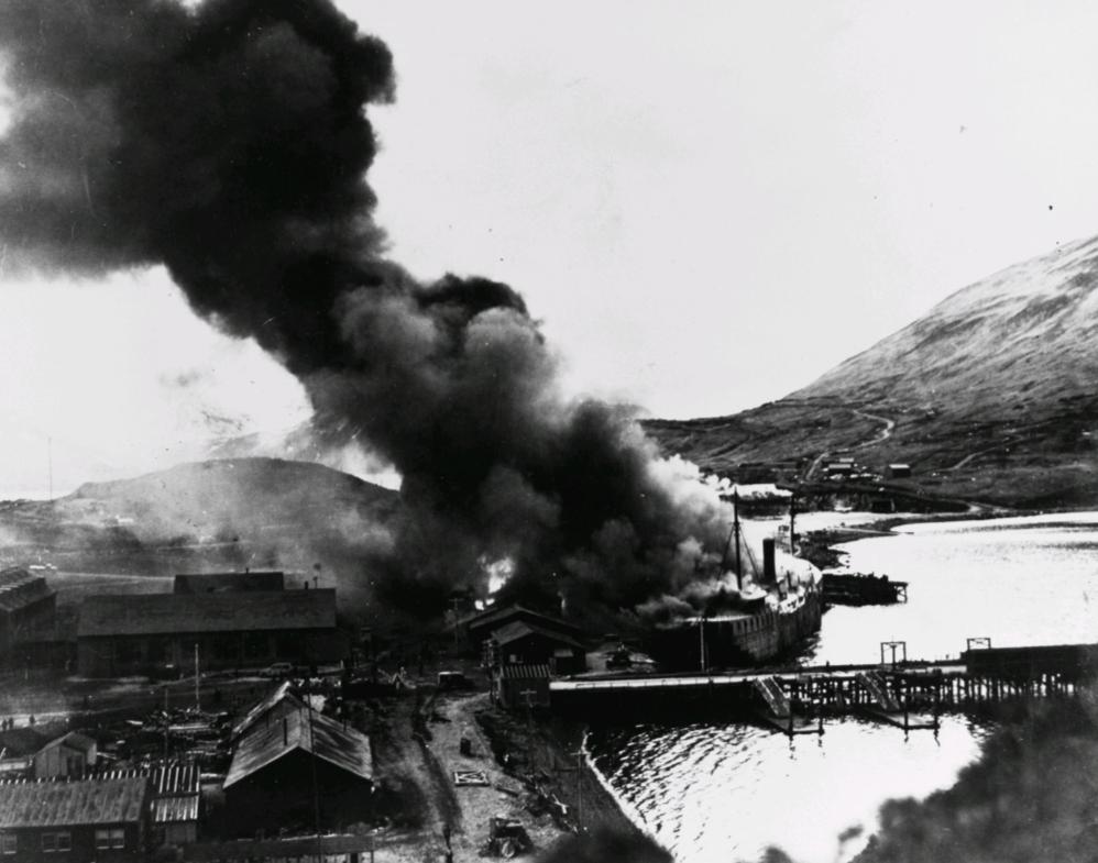 ataque a Dutch Harbor