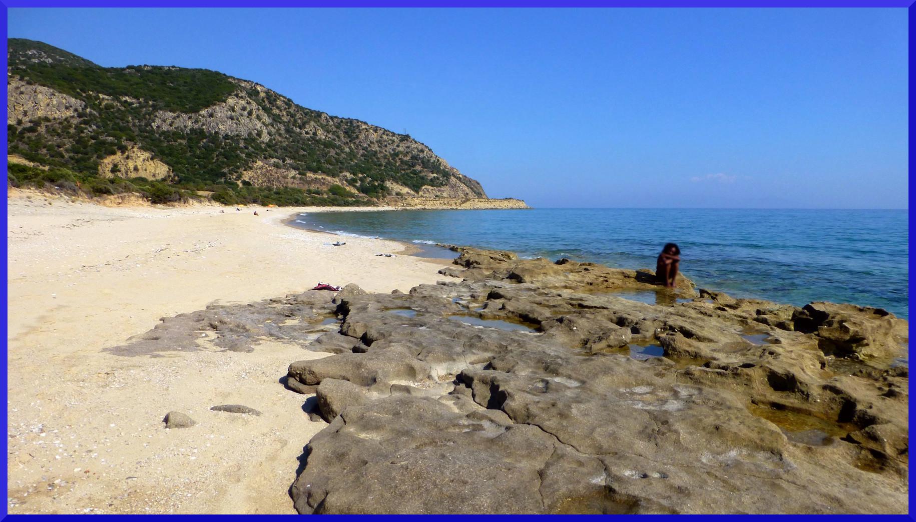 File Nudist Beach Kavala Greece Jpg