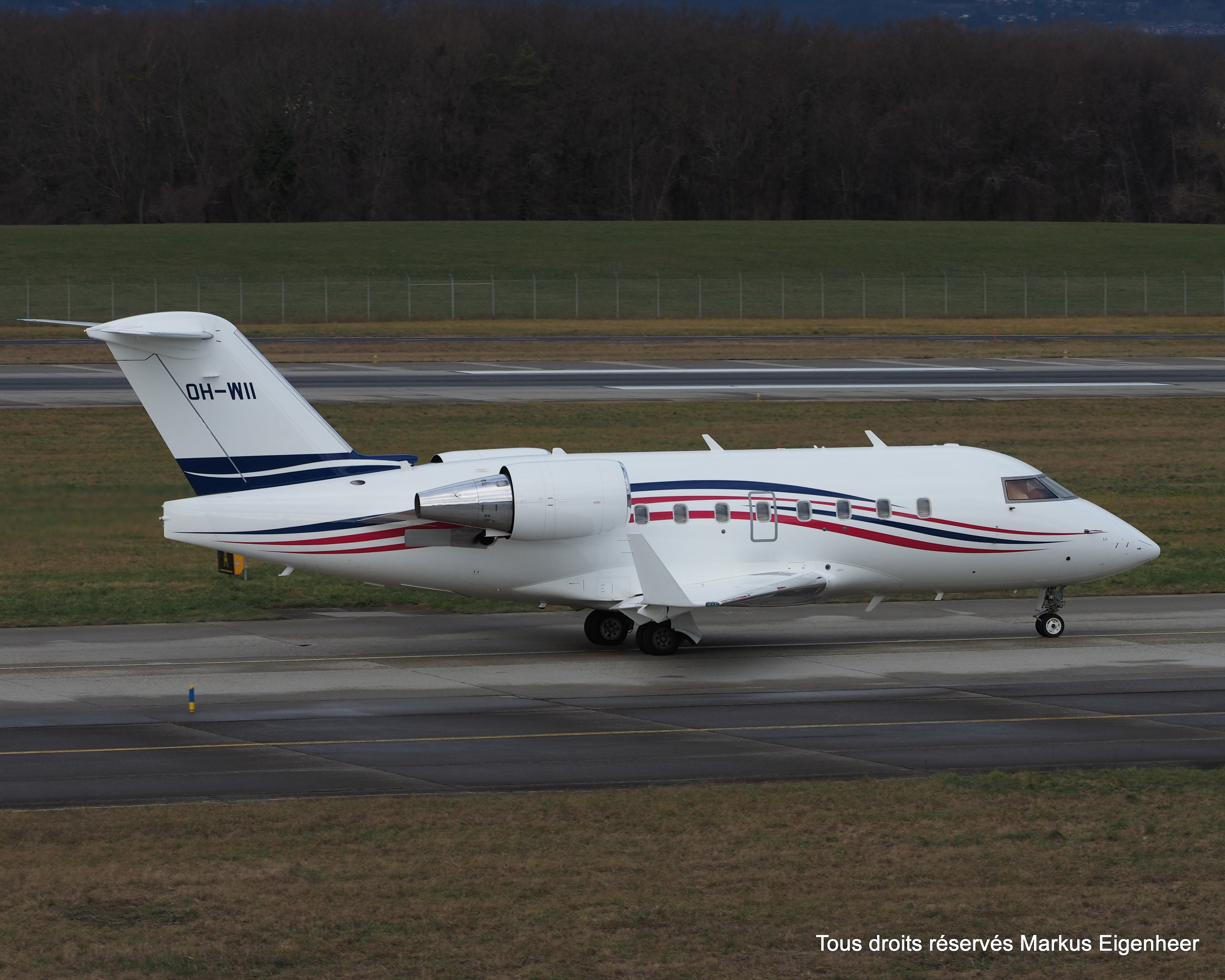 File:OH-WII Bombardier CL-600 2B16 Challenger 604 CL60 - JEF (