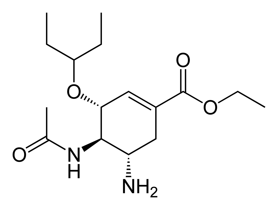 File:Oseltamivir-2D-skeletal-B.png - Wikimedia Commons