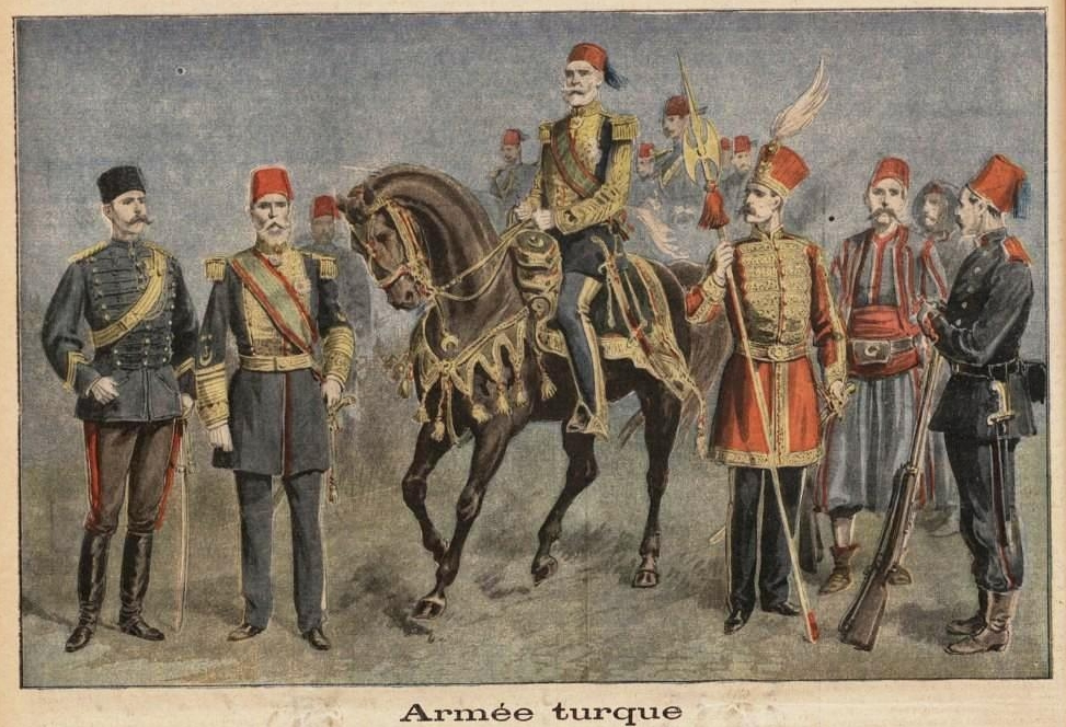 Ottoman Empire Paintings File:Ottoman Army 1897...