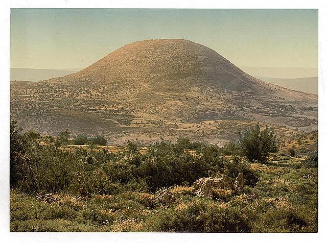 ראשית המאה ה20- הר תבור