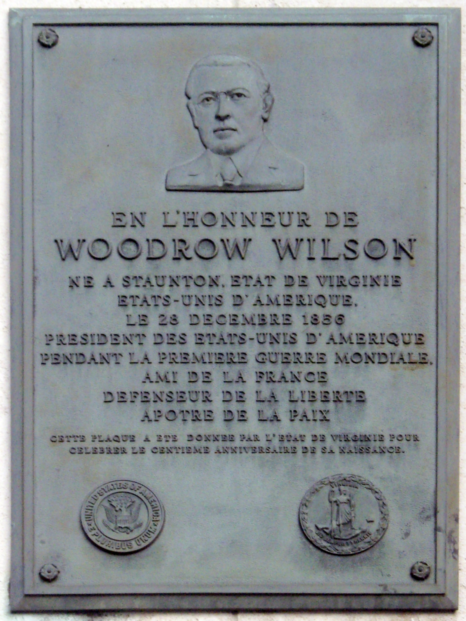 woodrwo wilson in first person essay Since president woodrow wilson's 1913 address, there have been 82 in-person state of the union addresses to congress.