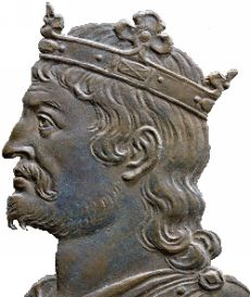 Theuderich II., Fränkisches Reich, König