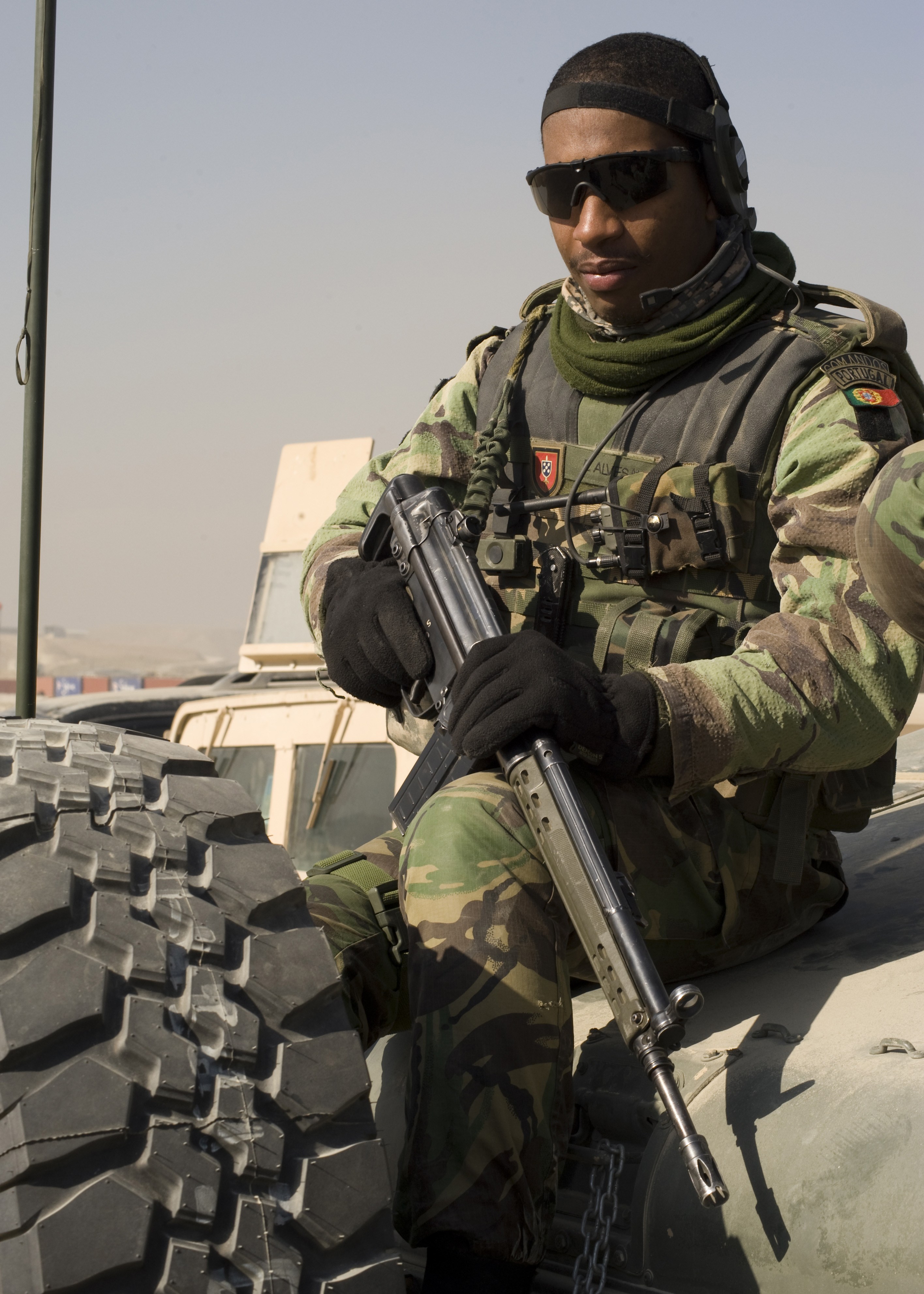 file:portuguese commandos support afghan national army - image 2 of