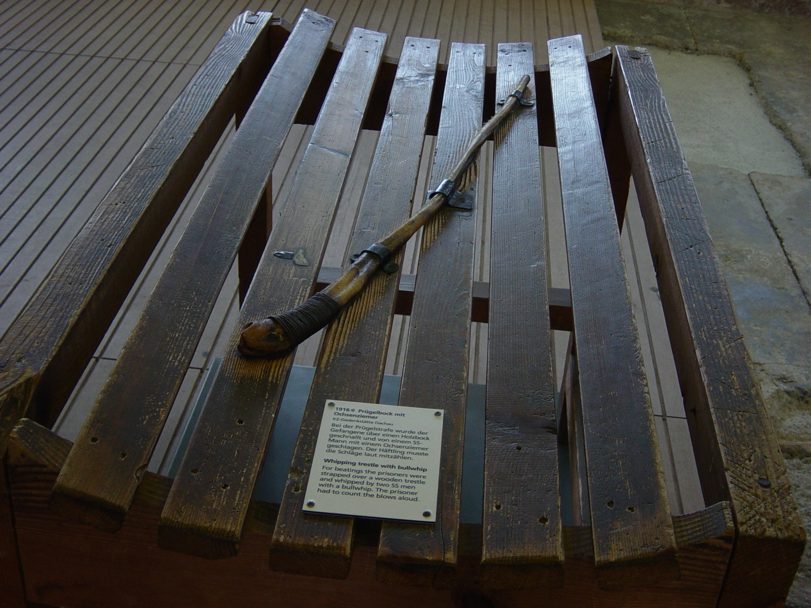 Rohrstock Strafe