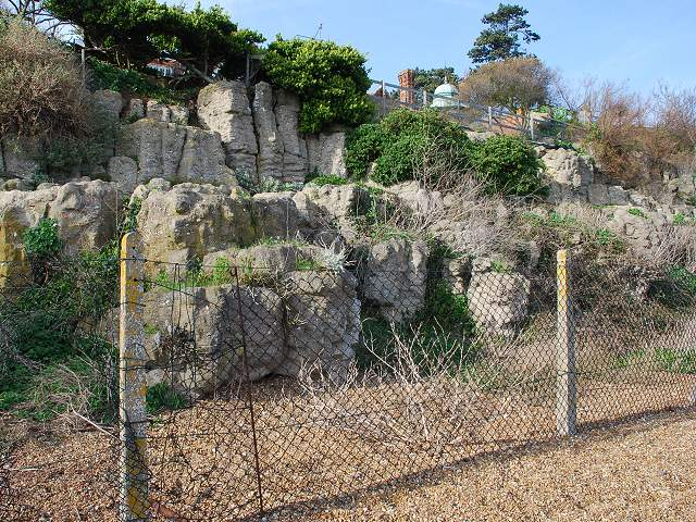 Pulhamite Cliff Walk at Bawdsey Manor-geograph-2346581
