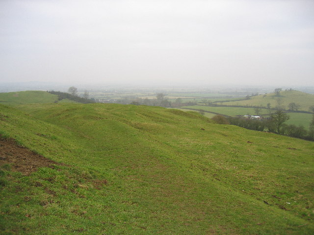 Quainton and Simber Hill with Grange Hill on right - geograph.org.uk - 118699