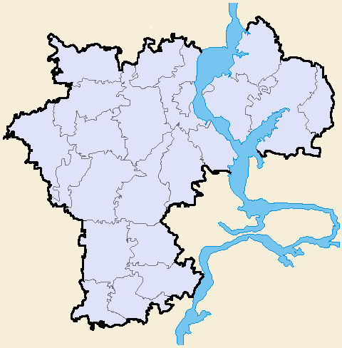 Районы Ульяновской области