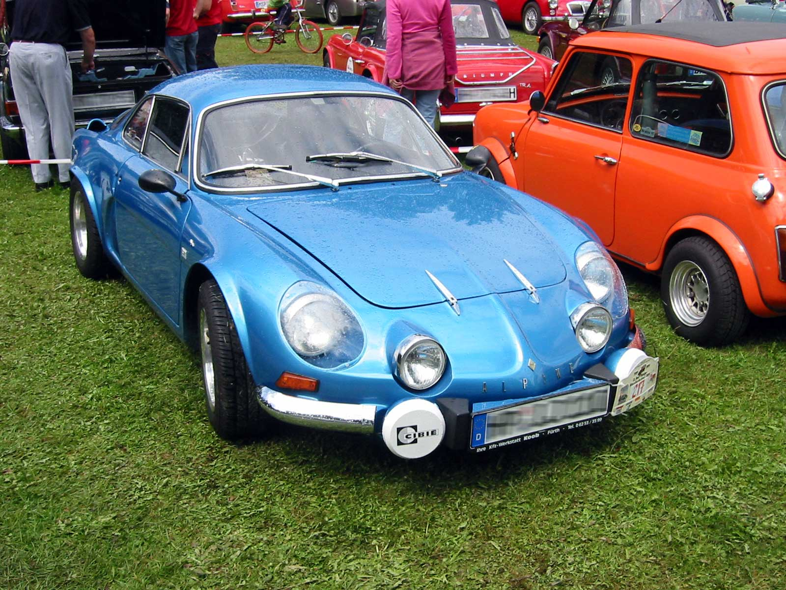 file renault alpine a110 berlinette 1600 wikipedia. Black Bedroom Furniture Sets. Home Design Ideas