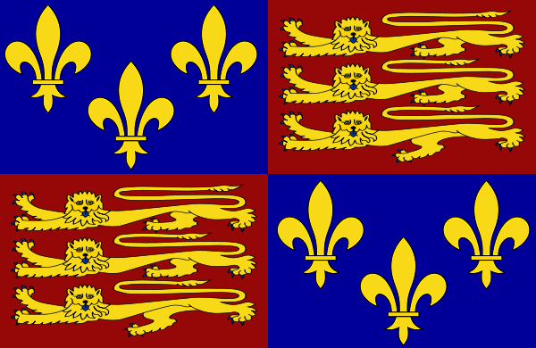file royal standard of england png  file royal standard of england 1406 1603 png