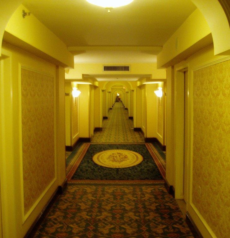 Hot Dog Hallway Gif