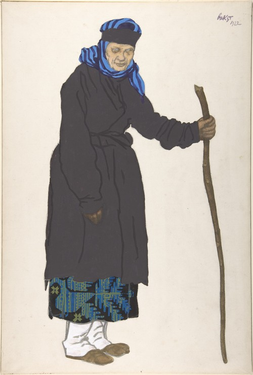 The Russian Peasant Woman Of 96