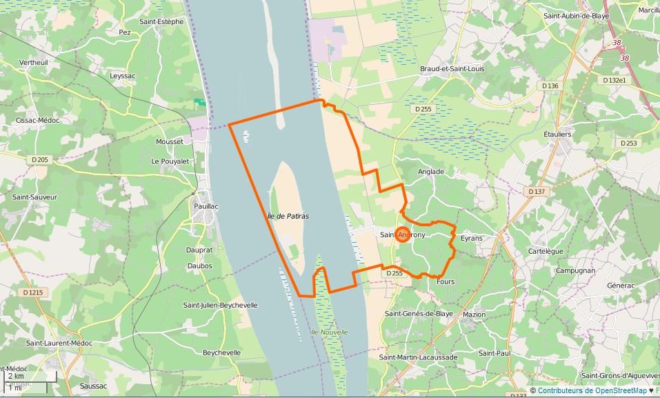 Carte De La Ville De Tourcoing