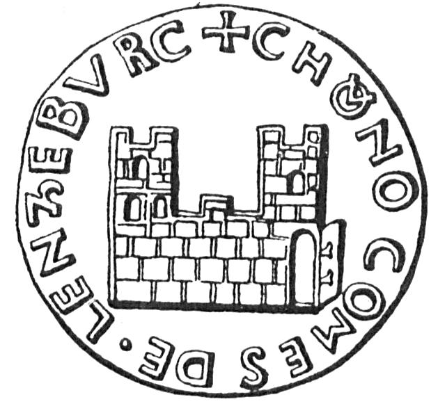 Counts Of Lenzburg