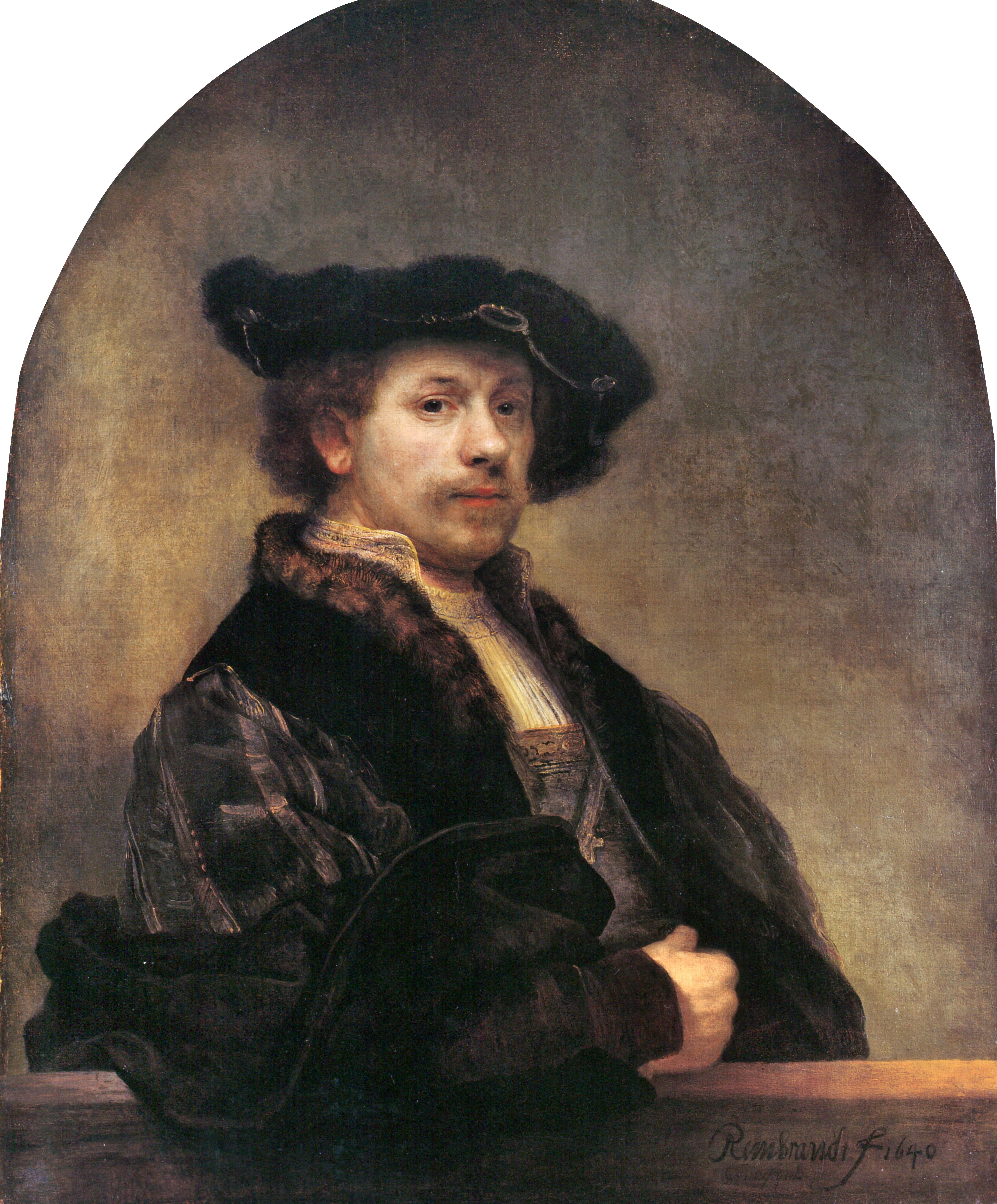 Nella foto: autoritratto del 1640